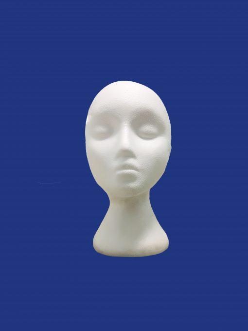 Đầu người bằng xốp